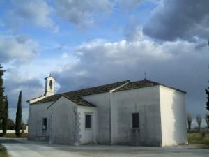 Chiesa della Beata Vergine Lauterana a Versa (vista di lato)