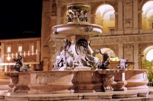 La Fontana nella Basilica di Loreto