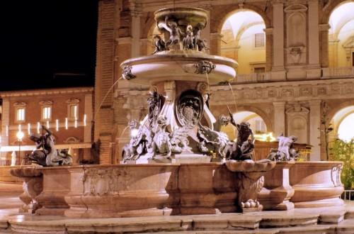 Loreto - La Fontana nella Basilica di Loreto