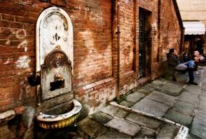 La fontana del del ……… 1900
