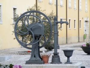 una fontana particolare