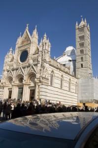 I riflessi del Duomo di Siena