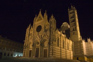 Duomo di Siena by night