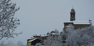 Parrocchiale sotto la neve
