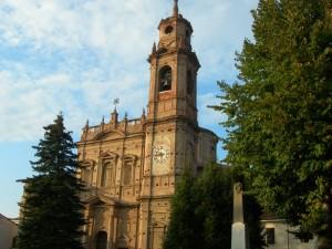 La grandiosa parrocchiale di Villa Pasquali