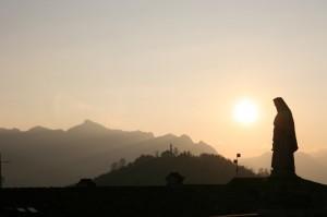 Mistico tramonto