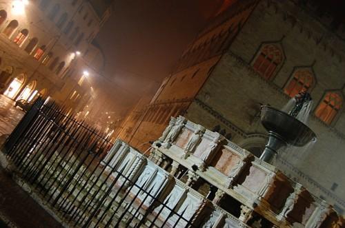 Perugia - La Maggiore notturna.