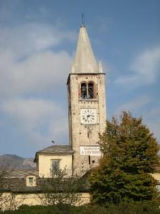 chiesa parrocchiale Santa Maria del Pino, Coazze