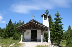 chiesetta alle sorgenti del piave
