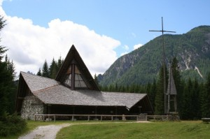 chiesetta in val visdende