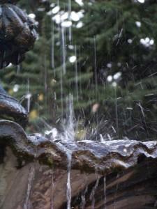 particolare della fontana di San giovanni