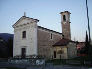 la chiesetta di Pomaro