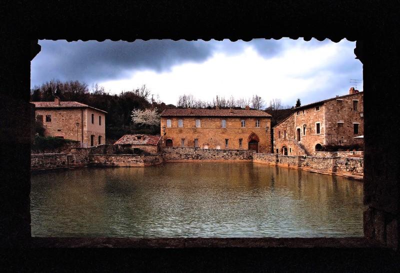 ''Terme di Bagno Vignoni'' - San Quirico d'Orcia