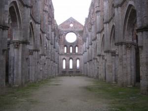 Ciò che resta dell'abbazia di s. Galgano