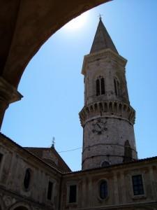 Scorcio della Chiesa di San Pietro - Perugia