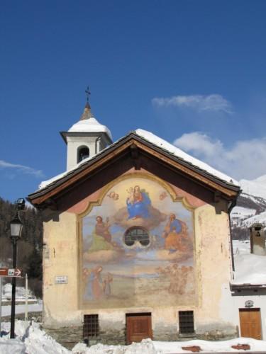 Etroubles - chiesetta affrescata