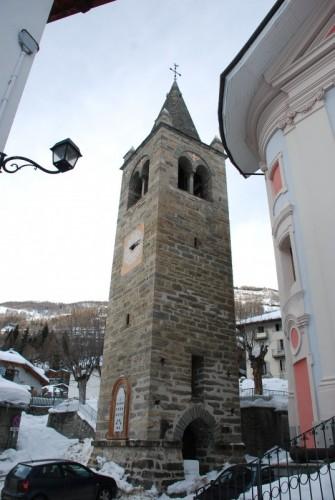 Etroubles - Il campanile della Parrocchia
