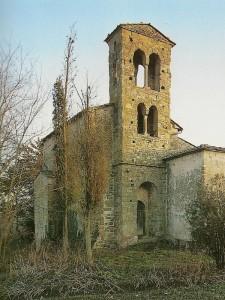 Chiesa romanica di Santa Maria a Corsano.