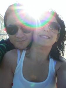 Among us two: The sun!!