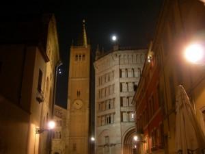 Il campanile e il battistero del Duomo