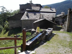 fontana della borgata Bourcet, Roure, Val Chisone