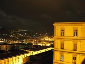 Sguardo notturno sulla città