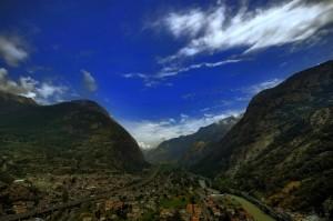 La porta d'ingresso alla Valle D'Aosta