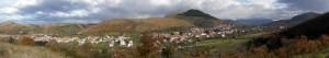 panoramica di Castel Morrone (CE)