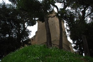 Rocca Tiepolo immersa nel verde