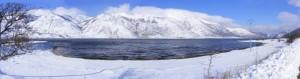 Nevicata a Miralago