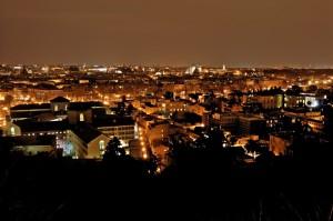 Roma, dal Gianicolo