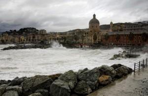 Mareggiata a Genova Pegli