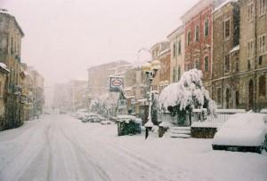 BONORVA  17 DICEMBRE 2007 - IL CORSO UMBERTO I