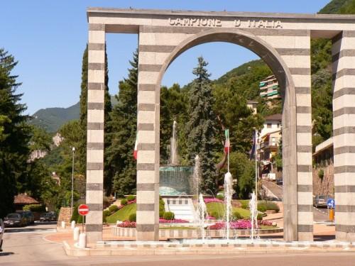 Campione d'Italia - ingresso all'enclave