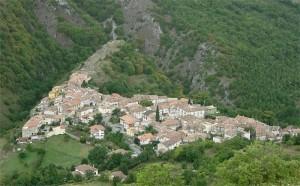 Panorama di Collimento di Lucoli (AQ).