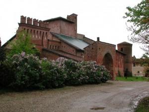 Castello di Quinto Vercellese: ingresso