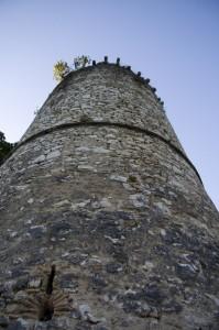 particolare del castello di Rocchettine