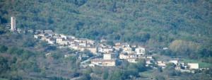 Panorana di Tione degli Abruzzi (AQ).