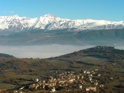 Ocre - Panorana di San Panfilo d'Ocre (AQ).