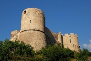Il castello di Lettere, veduta dal lato panoramico