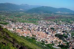 Panorama di Venafro