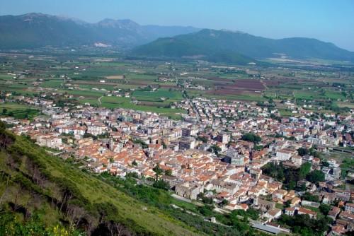 Venafro - Panorama di Venafro