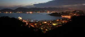 Lerici by night