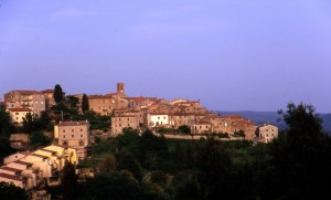Panorama di Monteverdi Marittimo