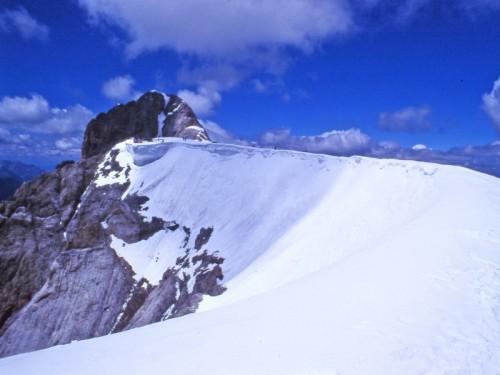 Rocca Pietore - in cima alla Marmolada