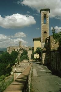 Panorama di Colle alto