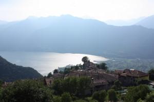 il panorama da Bondone