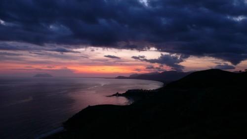 Sperlonga - Appena dopo il tramonto