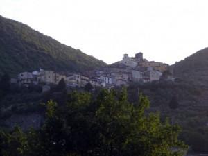 Il panorama di Ciorlano