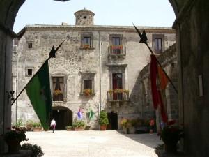 Cortile del castello ducale